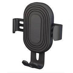 Devia Sensor Car Wireless Charger And Phone Holder - Black