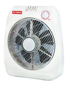 Fresh Box Fan, 12 Inch - Grey