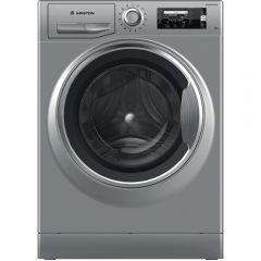 Ariston Front Load Automatic Washing Machine, 11KG, Inverter Motor, Silver- NLLCD 1165 SC AD EX