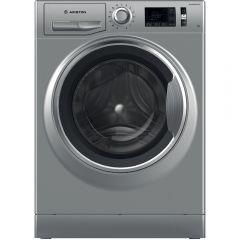 Ariston Front Load Automatic Washing Machine, 9 KG, Inverter Motor, Silver- NLM11 946 SC A EX