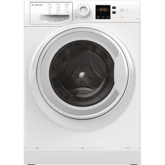 Ariston Hotpoint Front Load Automatic Washing Machine, 7 KG, White- NS 703U W EU