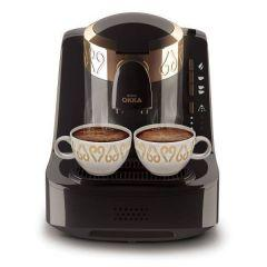 Arzum Okka Turkish Coffee Machine, 710 Watt, Black/Gold - OK001