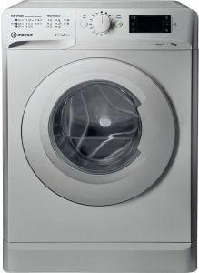 Indesit Front Load Automatic Washing Machine, 7 KG, Silver- OMTWE71252SEU