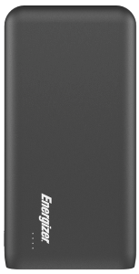Energizer Power Bank, 20000mAh, 2 Ports, Black - UE20006PQ
