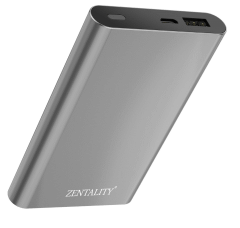 Zentality Power Bank, 8000 mAh, Grey- P009-GY