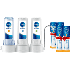 Tank Power Water Filter, 3 Stages - with 4 Candles