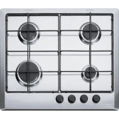 Franke Gas Built-in Hob, 4 Burners,  Stainless Steel - FHMR 604 4G XS E
