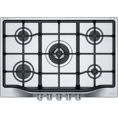 Franke  Built-In Gas Hob,  5 Burners, Stainless Steel Silver, FHTL7554GTCXSC