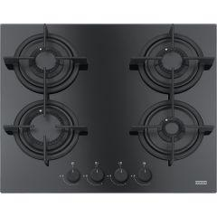 Franke Gas Built-in Hob, 4 Burners, Black- FHCR 604 4G HE BK C