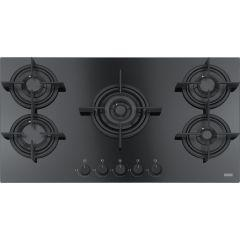Franke Built In Gas Hob, 5 Burners, Glass Black - FHCR9054GTCHEBKC