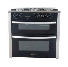Unionaire Free Standing Gas Cooker, 5 Burners, Stainless Steel- PRM6090S1GC511IDSPDV