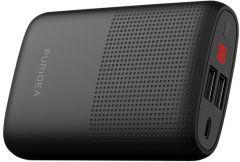 Puridea Power Bank- 9001-10000mAh- 2 USB Ports- S16- Black