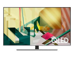 Samsung 65 Inch 4K UHD Smart QLED TV with Built-in Receiver-  65Q70T