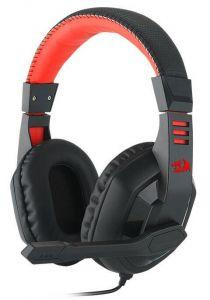 Redragon Garuda Over-Ear Gaming Wired Headphones with Microphone, Black - H120
