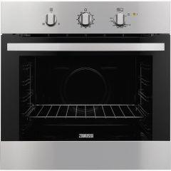 Zanussi Built-In Gas Oven With Grill, 60 cm, Stainless Steel - ZOG10311XK
