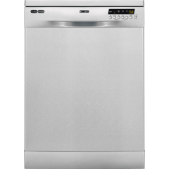 Zanussi Freestanding Dishwasher, 13 Place Settings, Stainless Steel- ZDF26004XA