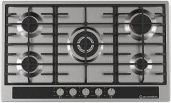 Ecomatic Gas Built-In Hob, 5 Burners, Stainless Steel- S903GC
