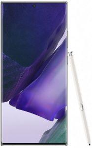 Samsung Galaxy Note 20 Ultra Dual Sim, 256GB, 4G LTE - Mystic White