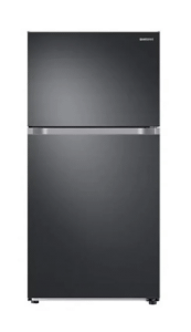 Samsung Digital Refrigerator With Freezer on Bottom, 328 Liter, Silver - RB33J3220SSM