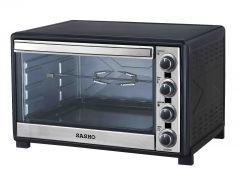 Sasho Electric Oven with Grill, 2200 Watt, 60 Liters, Black - SH5760
