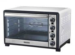 Sasho Electric Oven with Grill, 2200 Watt, 60 Liters, Silver - SH5860
