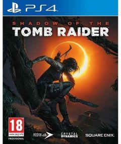 Squarc Cnix Shadow Of The Tomb Raider Game for PlayStation 4
