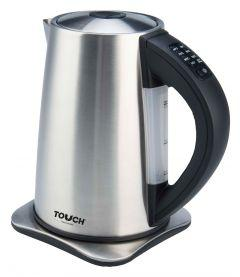 Touch Elzenouky Sigma Electric Kettle, 1.7 Liter, Stainless Steel - 40316