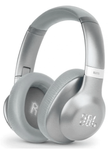 JBL EVEREST ELITE Wireless Over Ear Headphones With Microphone, Silver - V750NXT