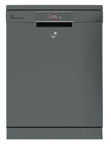 Hoover Freestanding Dishwasher, 16 Persons,12 Programs, Silver- HDPN4S603PX-EGY