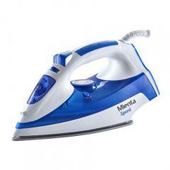 Mienta Speed Steam Iron, 2200 Watt, White \ Blue - SI18409A
