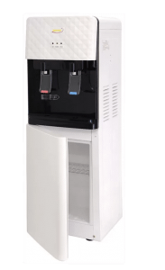 Speed Hot and Cold Water Dispenser with Cabinet, White - SP28