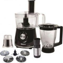 Saturn Food Processor, 600 Watt, Black - ST-FP7072