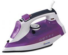 Home Steam Iron, 2200 Watt, Purple / White - SW302