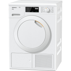 Miele Automatic Front Load Dryer, 8KG, White - TCE620WP