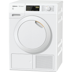 Miele Front Load Dryer, 7KG, White - TDB220WP