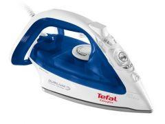Tefal Easygliss Steam Iron, 2400 Watt, White/Blue - FV3960E0