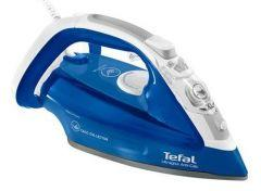 Tefal Ultragliss Steam Iron, 2500 Watt, Blue/White - FV4964E0