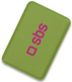 SBS Compact Power Bank, 4000mAh, 1 Port - Green
