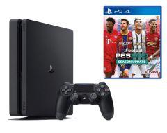 Sony PlayStation 4 Slim with Pro Evolution Soccer PES 2021, 500GB, 1 Controller - Black