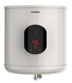 Tornado Electric Water Heater, 35 Liters, Off White - EWH-S35CSE-F
