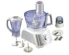 Tornado Food Processor, 1000 Watt, White / Silver - FP-1000SG