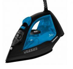 Tornado Steam Iron, 2200 Watt, Blue - TST-2200