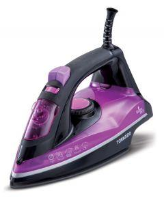 Tornado Steam Iron, 2100 Watt, Purple/Black - TST-2100N