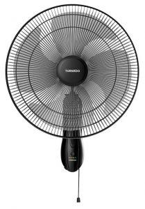 Tornado Wall Fan, 18 Inch, Black - TWF-18