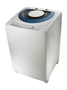 Toshiba Top Loading Washing Machine With Pump, 10 KG, Silver - AEW-9790SUP