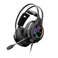 Tronsmart Glary Alpha Gaming Wired Over-ear Headphones With Microphone, Black