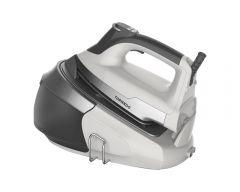 Tornado Steam Generator Iron, 2400 Watt, Grey \ White - TSS-2400