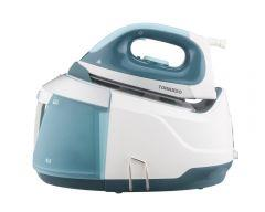 Tornado Steam Generator Iron, 2400 Watt, Turquoise \ White - TSS-2400D