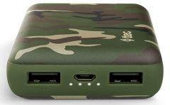Ttec Recharger Camouflage Power Bank, 10000mAh - Green