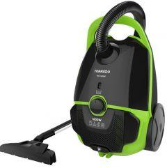 Tornado Vacuum Cleaner, 1600 Watt, Black/Green - TVC-1600M
